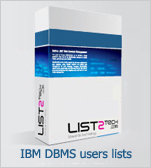 IBM DBMS users email lists